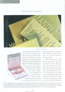 confetti magazine - invite feature / bottom left