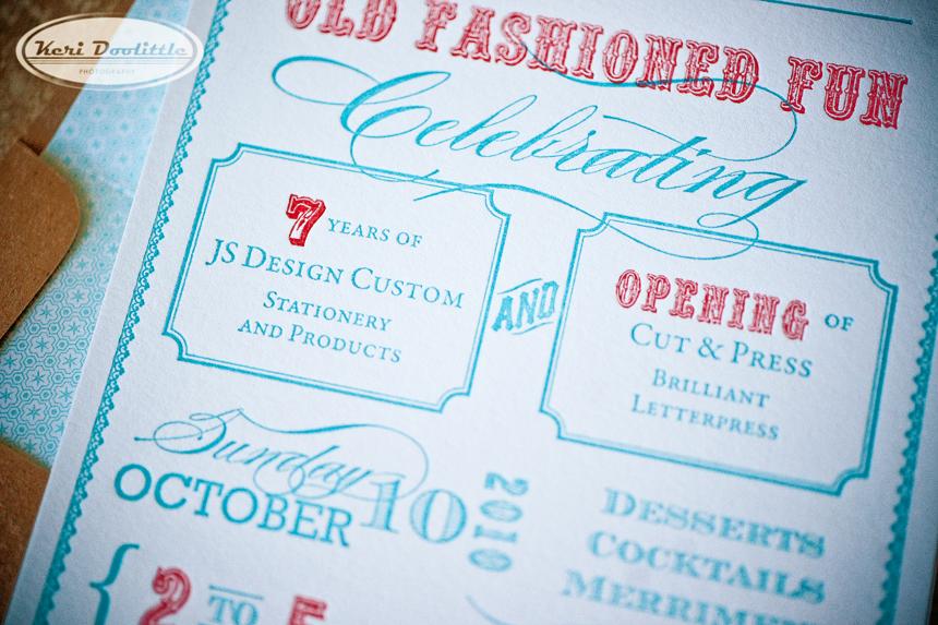 old fashioned fun invitation | Idea Chíc