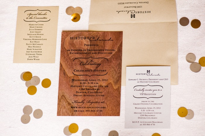 the full event invitation suite